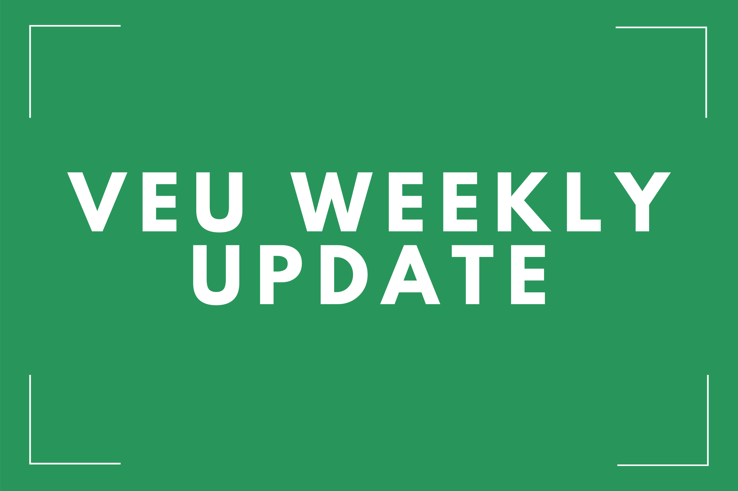 WEEKLY VEU ANALYSIS WE 1ST MARCH 2020